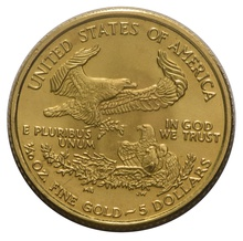 1986 Tenth Ounce Eagle Gold Coin MCMLXXXVI