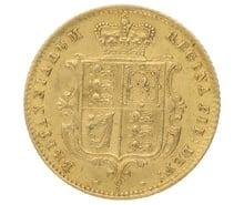 1869 Half Sovereign