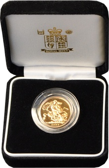 Gold Proof 2000 Sovereign Boxed
