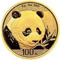 2018 8g Gold Chinese Panda Coin