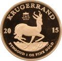 2015 1oz Gold Proof Krugerrand Battle of Britain Privy