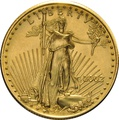 2002 Half Ounce Eagle Gold Coin