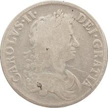 1671 Charles II Silver Crown