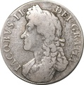 1688 James II Silver Crown - Fine