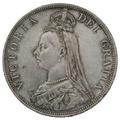 1888 Queen Victoria Silver Double Florin