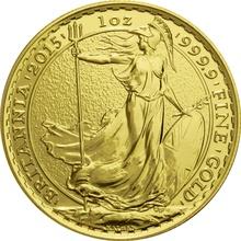 2015 Britannia One Ounce Gold Coin