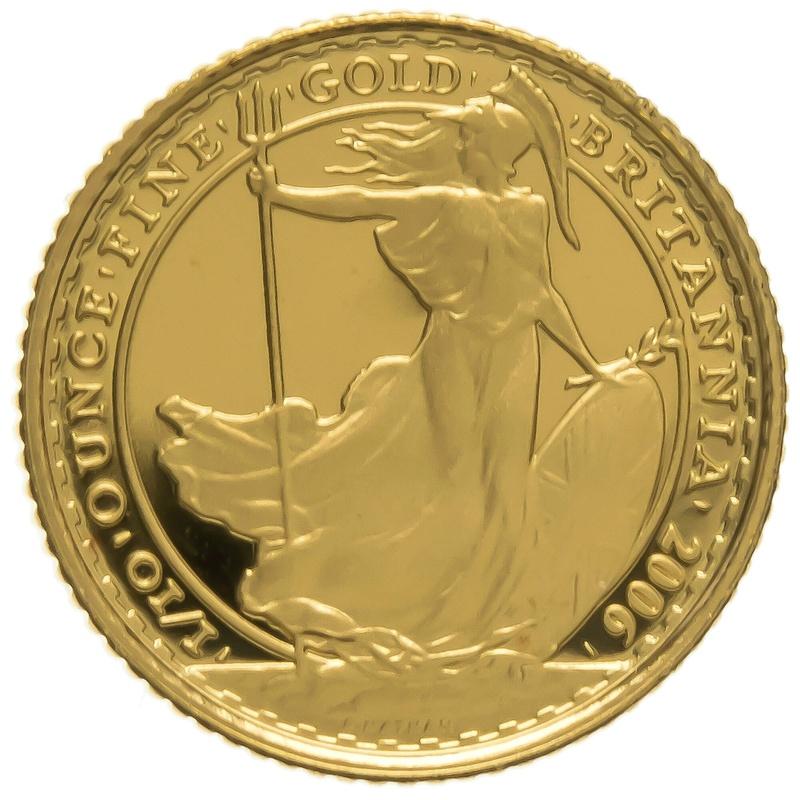 2006 Tenth Ounce Proof Britannia Gold Coin
