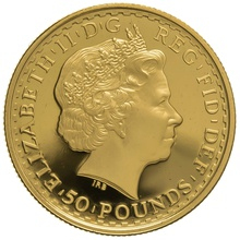 2004 Half Ounce Proof Britannia Gold Coin