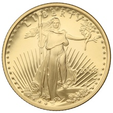 2005 Proof Quarter Ounce Eagle Gold Coin Boxed