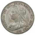 1893 Victoria Silver Shilling