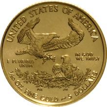 2017 Tenth Ounce Eagle Gold Coin