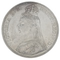 1887 Queen Victoria Silver Milled Crown CGS65