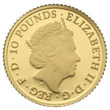 2015 Tenth Ounce Proof Britannia Gold Coin