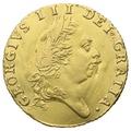 1788 George III Half Guinea Gold Coin