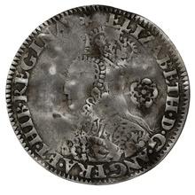 1562 Elizabeth I Silver Threepence mm Star