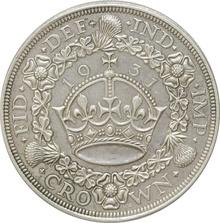 1931 George V Proof Crown (Christmas Crown) - Good Very Fine