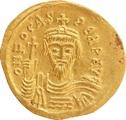 602-610 AD Phocas Gold Solidus Constantinople