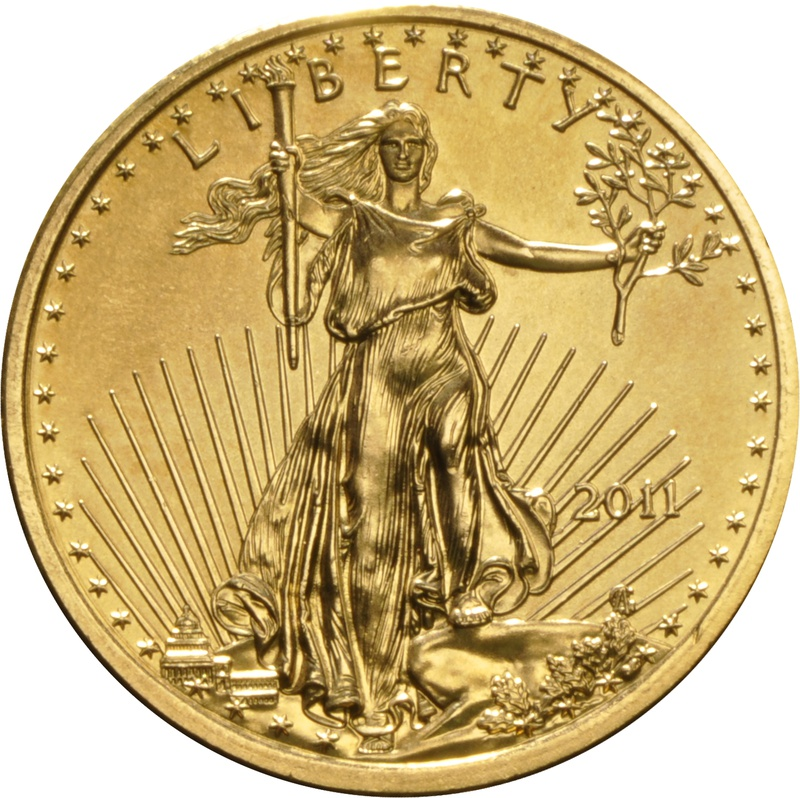 2011 Quarter Ounce Eagle Gold Coin