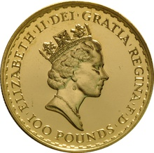 1992 Gold Britannia One Ounce Coin