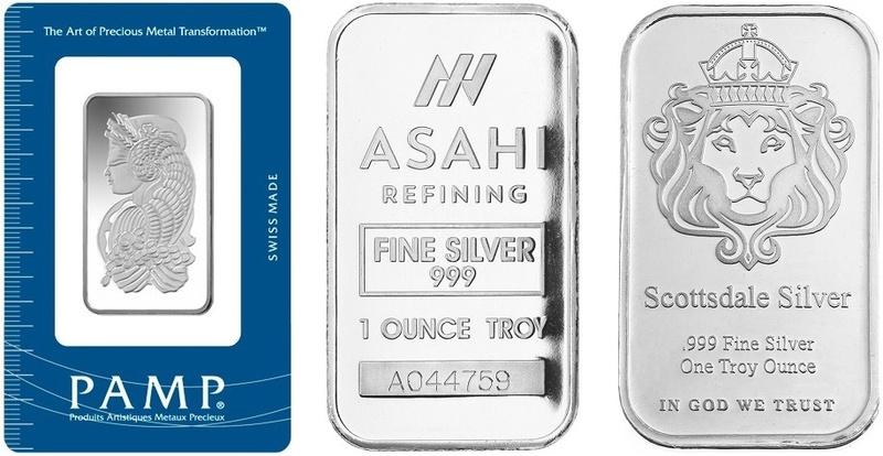 1oz Silver Best Value Bar