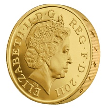 One Pound Proof Gold Coin