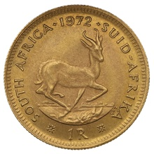 1972 1R 1 Rand coin South Africa
