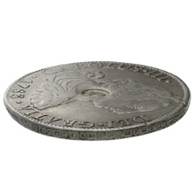 1783 George III Silver Countermarked Dollar Mexico