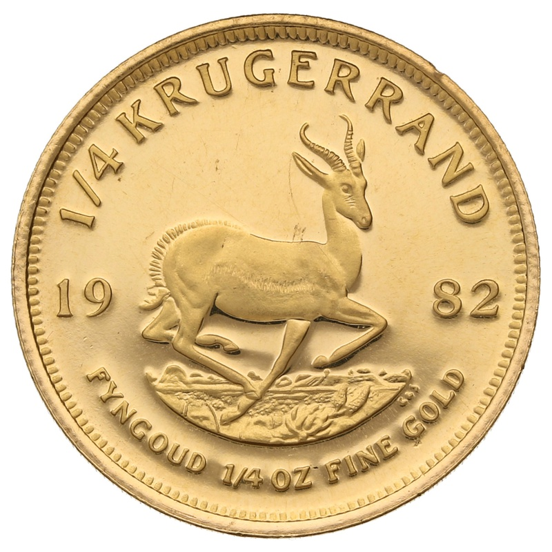 1982 Proof Quarter Ounce Gold Krugerrand
