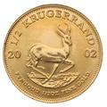2002 Half Ounce Krugerrand Gold Coin