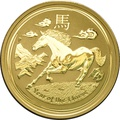 2014 Perth Mint 1oz Year of the Horse Gold Coin