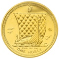 2010 1oz Gold Isle of Man Noble