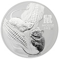 2020 1 Kilo Australian Lunar Year of the Mouse Silver Coin