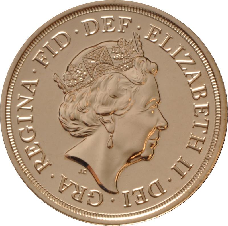 Sovereign - Elizabeth II, Fifth Head