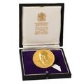 1965 Winston Churchill 1.5 inch Gold Medal Boxed