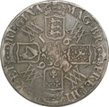 1692 William and Mary Silver Crown - Fine