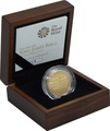 2011 £2 Two Pound Proof Gold Coin: King James Bible Boxed