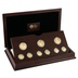 2010 - 2012 London Olympics Faster, Higher, Stronger Gold Proof 9 Coin Set Boxed