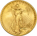 1911 $20 Double Eagle St Gaudens Head Gold Coin Denver