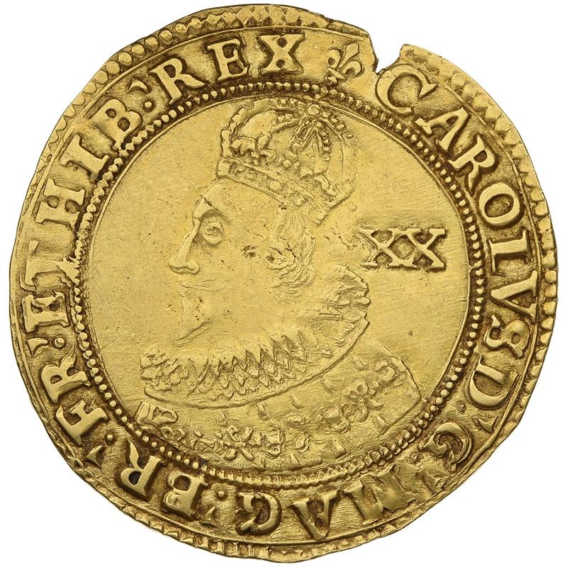 1625 Charles I Gold Unite Group A
