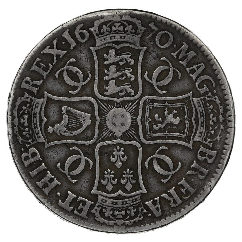 1670 Charles II Crown