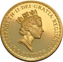 1987 Gold Britannia One Ounce Coin