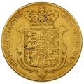 1825 Gold Sovereign - George IV Bare Head