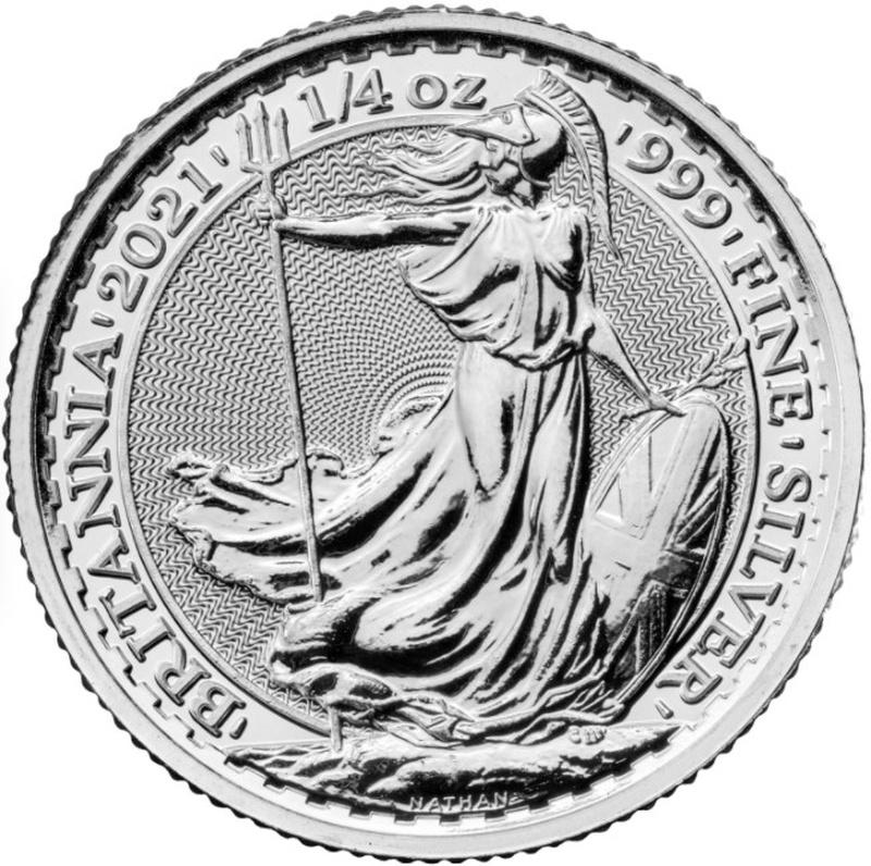 2021 Quarter Ounce Britannia Silver Coin