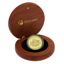 2011 Australian Gold Proof Sovereign Boxed