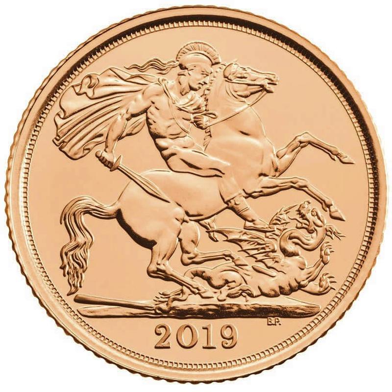 2019 Gold Half Sovereign