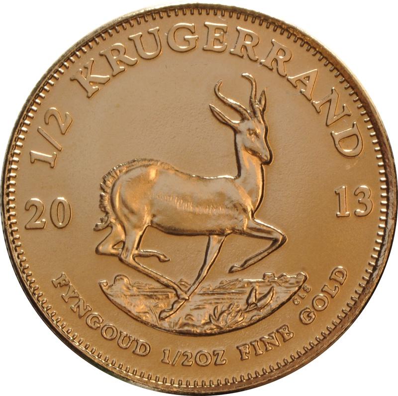 2013 Half Ounce Krugerrand