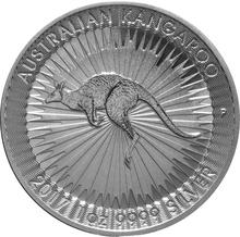 2017 1oz Silver Australian Kangaroo Coin