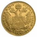 Gold Austrian 1 Ducat 1915