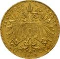 Gold Austrian 20 Coronas