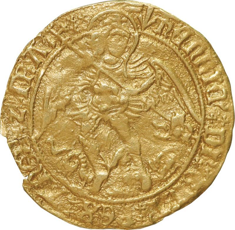 Henry VII Angel - Good Fine